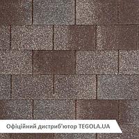 Итальянская битумная черепица TEGOLA Nobil Tile Loft серо-коричневый