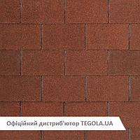 Итальянская битумная черепица TEGOLA Nobil Tile Loft Красно-коричневый