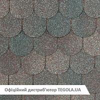 Итальянская битумная черепица TEGOLA NobilTile Verona темно-серый