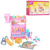 Мебель 21019 детская комната, стол, горка,  велосипед, шкаф, стул, в короб 29-16,5-6 см