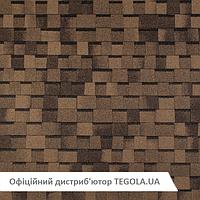 Итальянская ламинированная битумная черепица TEGOLA Master  Premier Светло-коричневый