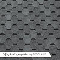 Итальянская битумная черепица TEGOLA Top Shingle Smalto Серый