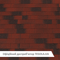 Итальянская битумная черепица TEGOLA Top Shingle Vintage Красный
