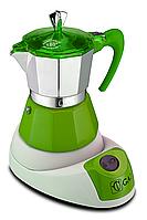 Электрическая гейзерная кофеварка G.A.T. FANTA VERDE 4-6 TZ