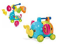 Развивающая музыкальная игрушка Слоник