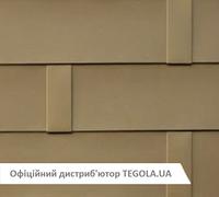 Итальянская алюминиевая черепица TEGOLA Ultimetal ALU Золото