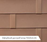 Итальянская алюминиевая черепица TEGOLA Ultimetal ALU Бронза