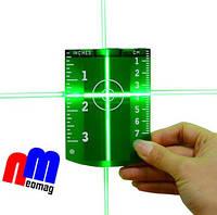 Мишень магнитная для зелёного лазерного нивелира