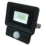 Прожектор светодиодный BIOM 10W S4-SMD-10-Slim+Sensor 6500К 220V IP65, фото 3