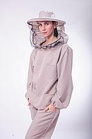 Куртка пчеловода лен-габардин, фото 1