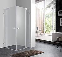 UNICUM Душевая кабина квадратная 90*90*190см (стекла+двери), распашные двери, стекло прозрачное 8мм
