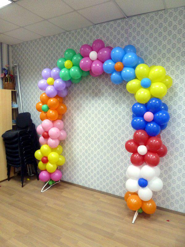 Как сделать арку из шаров без гелия  в Днепре