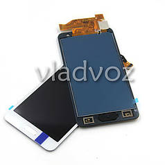 Дисплей модуль экран с сенсором для замены на Samsung A300F Galaxy A3 A300FU A300H (2015) TFT LCD белый