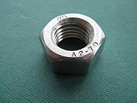 DIN 934 (ГОСТ 5927-70; ISO 4032) : нержавеющая гайка шестигранная, фото 1
