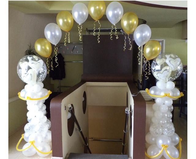 Арка из шаров на свадьбу в Днепре