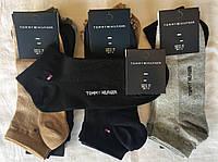 Спортивные короткие носки в сетку стрейч тм Tommy Hilfiger