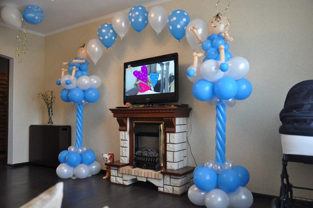 Оформление праздников воздушными шарами в Днепре