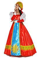 Масленица женский карнавальный костюм с кокошником \ размер 46-50 \ BL - ВЖ291