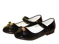 Красивые лаковые туфли Clibee D 550  черный