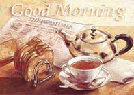 """Алмазная вышивка размер изображения 40х30 - набор """"Good morning"""""""
