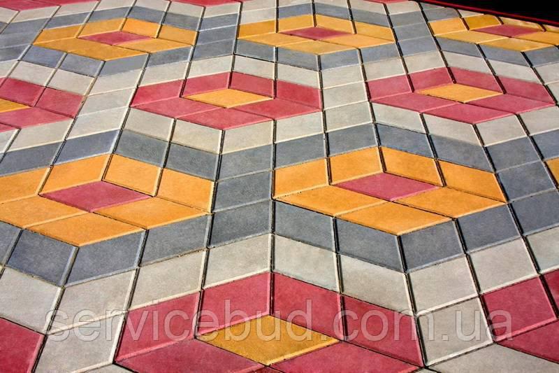 Узоры из тротуарной плитки, фото 1