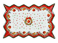 "Блюдо 25,5 см ""Новогодняя коллекция"", Lefard, 985-017"