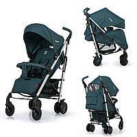 Прогулочная детская коляска-трость CARRELLO Arena CRL-8504 Jasp Green в льне