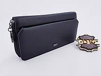 ЛИКВИДАЦИЯ Женский кожаный кошелек 19*9.5*3 см (натуральная кожа) с внешней визитницей
