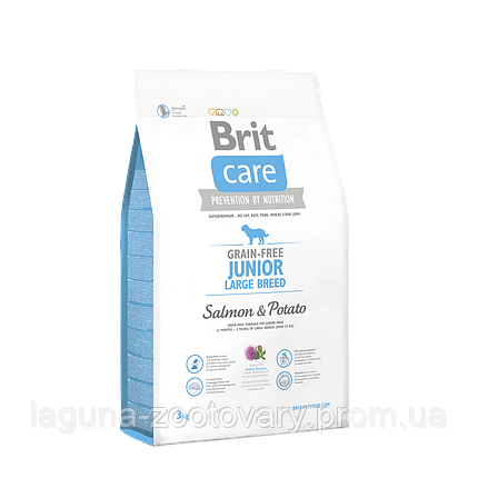 Brit Care GF Junior Large Breed Salmon & Potato 3 kg (д/щенков гигантских пород), фото 2