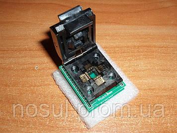 Переходник для программатора TQFP32 QFP32 LQFP32 - DIP28 (Atmel Atmega) адаптер для AVRISP, USBASP, MkII панел