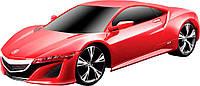 Игровая автомодель 2013 Acura NSX Concept со светом и звуком (красный), 1:24, Maisto