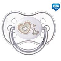 Пустышка силиконовая симметрическая Newborn baby 0-6 месяцев - 22/580