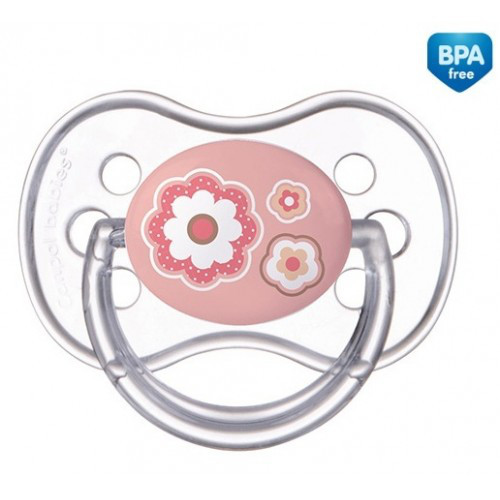 Пустышка анатомическая силиконовая Newborn baby, 0-6м  22/565