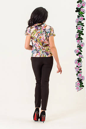 Блузка «Стрекоза» персиковая от производителя, фото 2