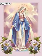 """Алмазная вышивка размер изображения 40х30 - набор """"Дева Мария""""  Virgin Mari"""