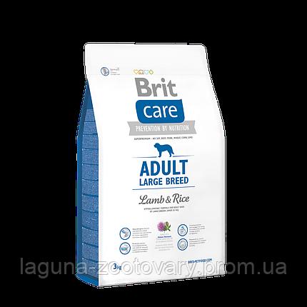 Brit Care Adult Large Breed Lamb & Rice 3 kg (д/собак весом от 25 кг), фото 2
