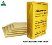 Шумоизоляция пола под стяжку 20мм AcousticWool Sonet F Floor, фото 1