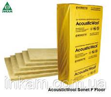 Шумоизоляция пола под стяжку 20мм AcousticWool Sonet F Floor