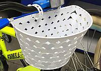 Корзинка для детского велосипеда (белый)