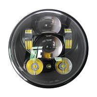 Фара мото LED 5,45 дюймів DL-557F(Black )