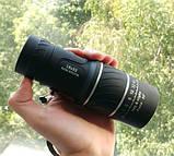 Монокуляр Bushnell 16x52. Зум 16 разів на 8000 м, нічний вигляд, 2 фокусу, фото 3