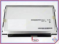 "Матрица 10.1"" Slim (1024*600, 40pin справа, ушки по бокам) AUO B101AW06 V.1 Глянцевая."