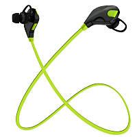 Bluetooth наушники HOOK H1 Green (hub_UAHB43433_my)
