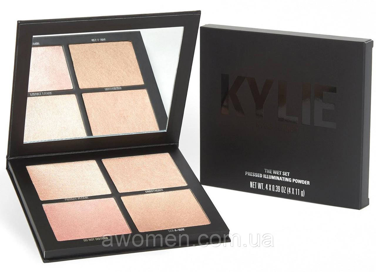 Хайлайтер Kylie THE WET SET | PRESSED ILLUMINATING