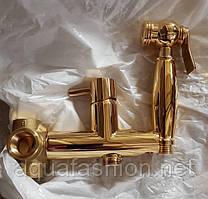 Встроенные смесители с гигиеническим душем Webert Италия