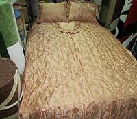 Покрывало атлас с подушками