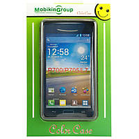Чехол Mobiking Nokia 200 Asha black/Silicon (16664)