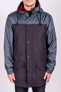 Парка\куртка\ветровка Outfits - TLM Gray/Black (чоловіча\мужская) Весна-Осінь