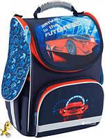 Рюкзак каркасный школьный Kite Education для мальчиков 34 x 26 x 13 см 11 л Гоночный автомобиль K18-501S-5