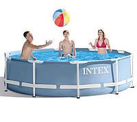 Круглый каркасный бассейн Intex 305 х 76 см (28700)